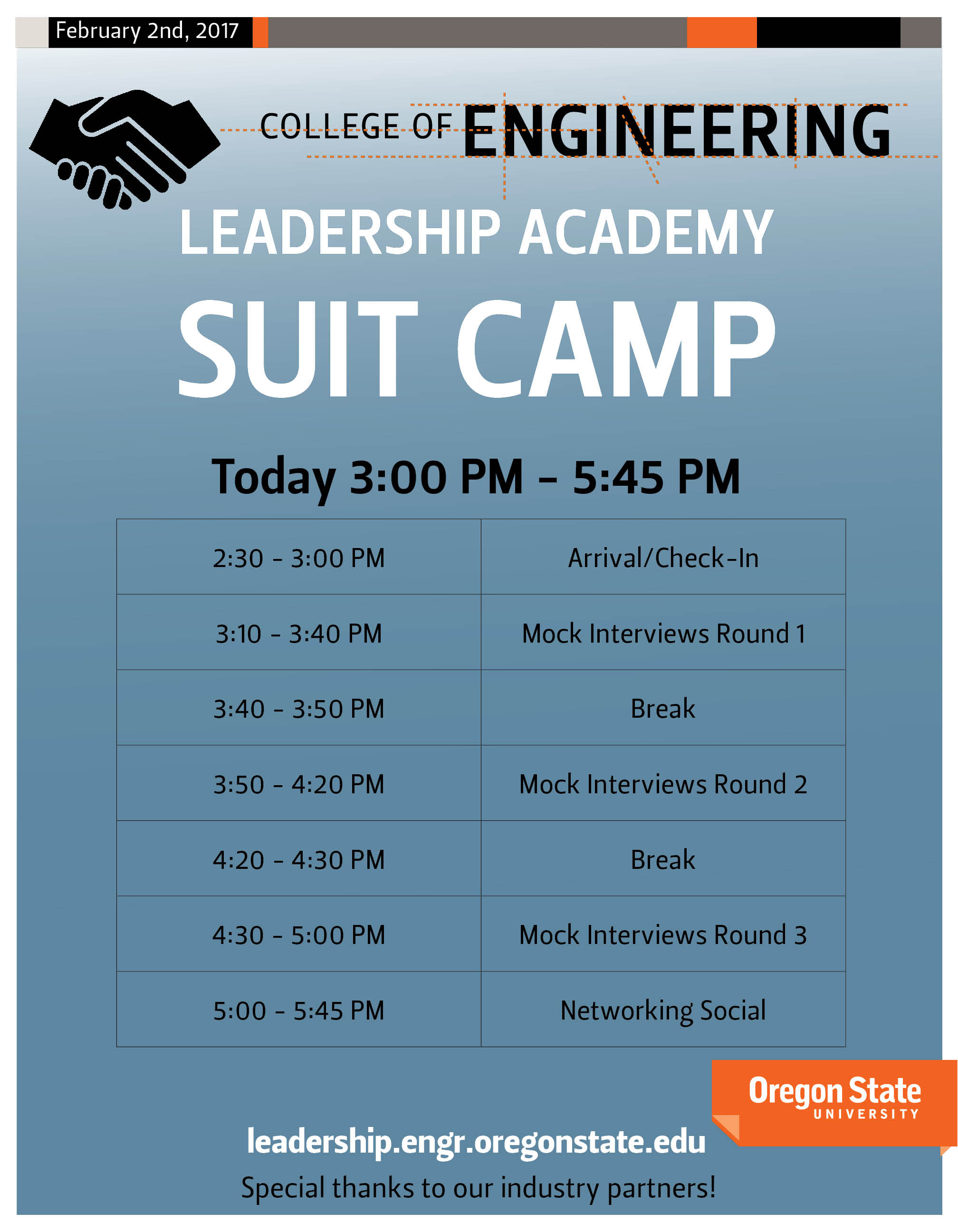 2017 Suit Camp Program